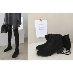 DAILY LOOK - Faux-Suede High Boots