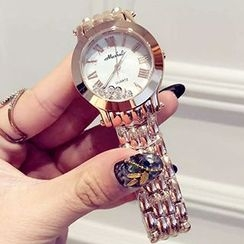 Nanazi Jewelry - Rhinestone Bracelet Watch