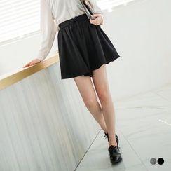 OrangeBear - Drawstring Roomy Shorts