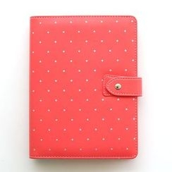 Nina's House - Polka Dot Loose Leaf Notebook (A5)