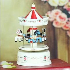 Retro Times - Carousel Desk Ornament