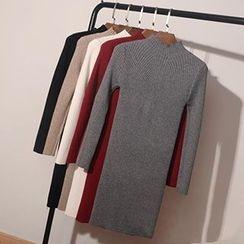 Coralie - Mock-Neck Knit Dress