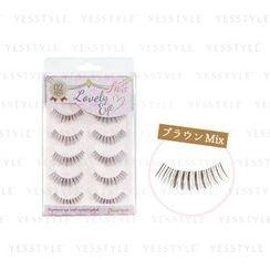 LUCKY TRENDY - Beauty World Lovely Eye Eyelash Black (FLE982)