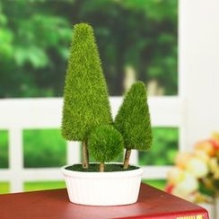 Retro Times - Plant Desk Ornament