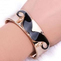 Cheermo - Mustache Open Bangle