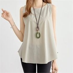 PIPPIN - Sleeveless A-Line Top