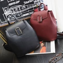 Nautilus Bags - Faux Leather Backpack