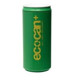 Eco Concepts - Eco Can Plus Green with Yellow Print (450ml)