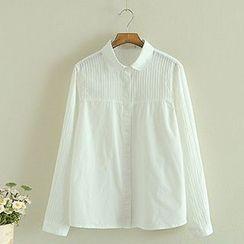 Storyland - Long-Sleeve Paneled Shirt
