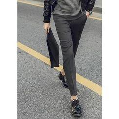 GERIO - Straight-Cut Dress Pants