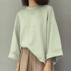 Champi - 3/4-Sleeve Crewneck T-Shirt
