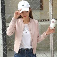 NINETTE - Faux-Leather Jacket