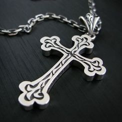 Sterlingworth - Hand Made Sterling Silver Cross Pendant