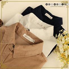 Maymaylu Dreams - Plain Corduroy Shirt