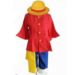 Kaneki - One Piece Monkey D. Luffy Cosplay Costume