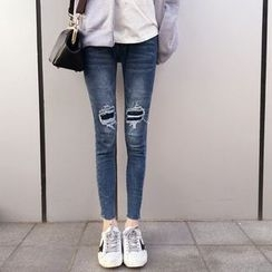 YUKISHU - Distressed Skinny Jeans