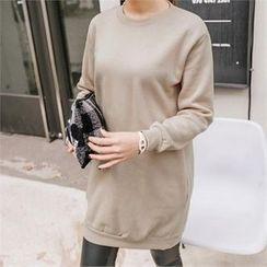 JOAMOM - Plain Long T-Shirt