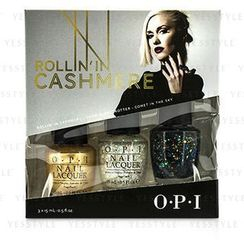 O.P.I - Gwen Stefani Rollin In Cashmere Nail Effects Trio