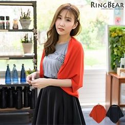 RingBear - Short Sleeve Knit Cardigan