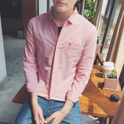 Besto - 純色襯衫
