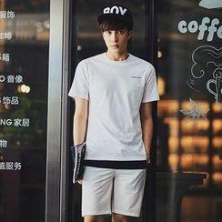 MRCYC - Short-Sleeve Lettering T-Shirt