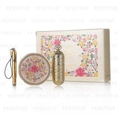 The History of Whoo - Gongjinhyang Secret Court Special Set: Lip Balm 7g + Lipstick (#13 Pink Beige) + Brush
