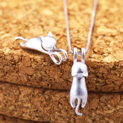 LoveGem - Cat Pendant Necklace