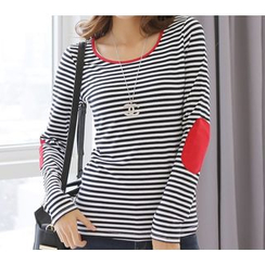 Zyote - Long-Sleeve Striped T-Shirt
