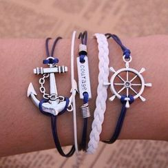 Darlin - Helm & Anchor Bracelet