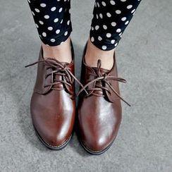 BAIMOMO - Faux-Leather Oxford Shoes