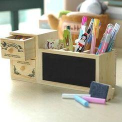 OH.LEELY - 木製桌面收納架