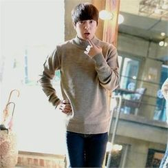 Smallman - Colored Mock-Neck Sweater