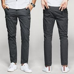 Quincy King - Straight Fit Cargo Pants