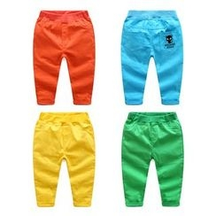 WellKids - Kids Embroidery Tapered Pants
