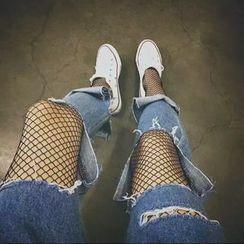 ANTEM - 魚網襪褲
