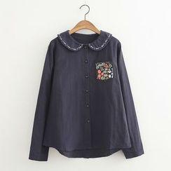 ninna nanna - Embroidered Shirt