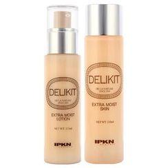 IPKN - Delikit Extra Moisture Set (For Dry Skin): Skin 210ml + Lotion 135ml