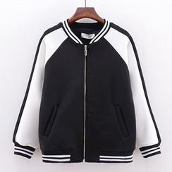 Tulander - Color Block Zip Jacket