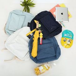 Bagolo - Applique Denim Backpack