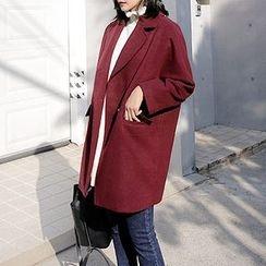 Seoul Fashion - Double-Breasted Coat