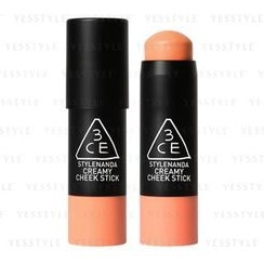 3 CONCEPT EYES - Creamy Cheek Stick (Sweet Apricot)