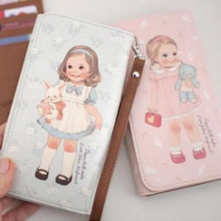 iswas - 'Paper Doll Mate' Series Mobile Pouch
