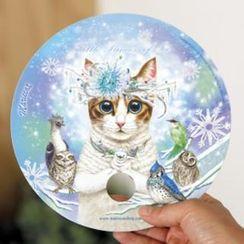 iswas - Cat Hand Fan