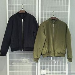 Velero - Plain Bomber Jacket