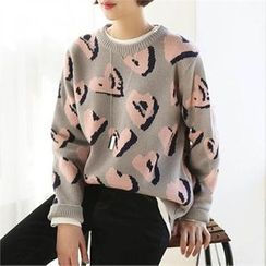CHICFOX - Patterned Knit Top