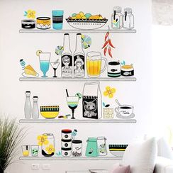 LESIGN - Kitchen Wall Sticker