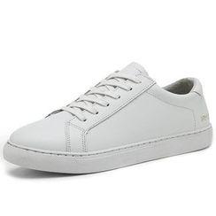 EnllerviiD - Genuine-Leather Sneakers