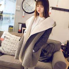 FR - Hooded Fleece Coat