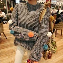 Tulander - Pompom Sweater