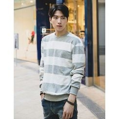 STYLEMAN - Round-Neck Color-Block Pullover